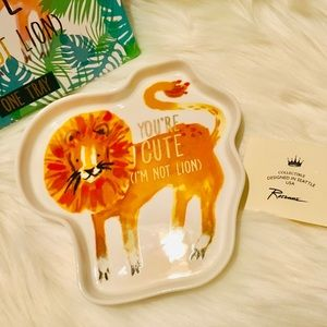 YOU'RE CUTE I'M NOT LION, ROSANNA, JEWELRY TRAY